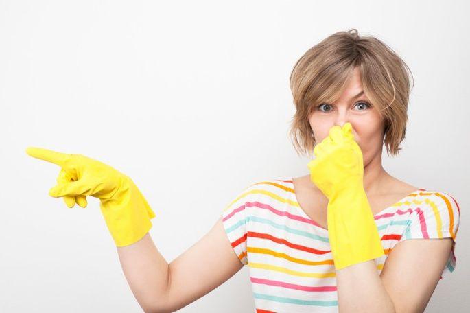 get rid of odors